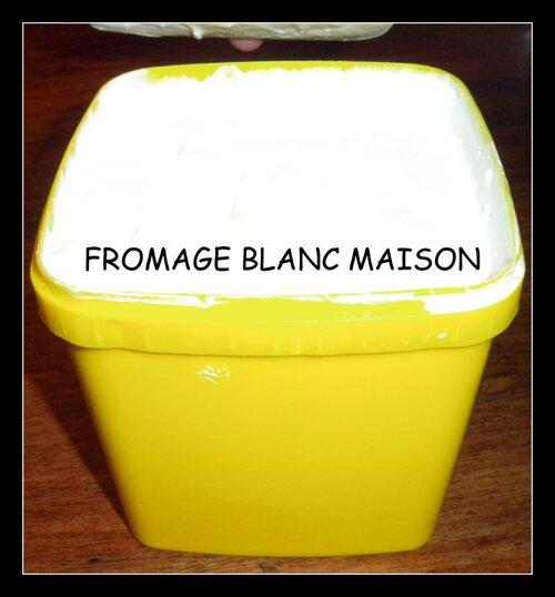 LE FROMAGE BLANC MAISON