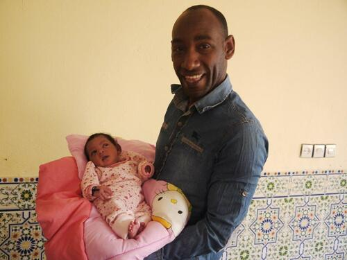 Ahmad un papa heureux