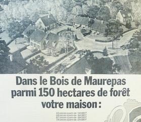 La ville nouvelle s'amorce à l'ouest de Trappes à la fin des années 60