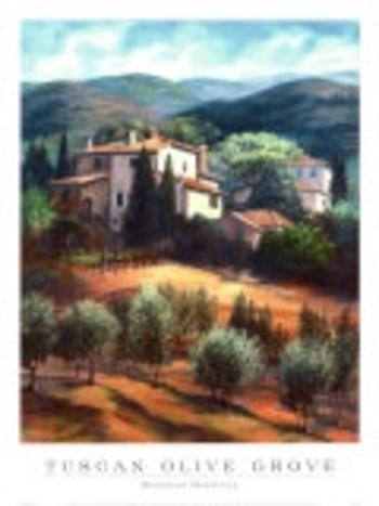 Deborah-Haeffele-Oliveraie-en-Toscane-Affiches