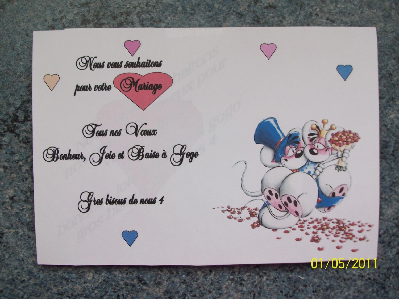 remerciement - Texte De Felicitation De Mariage