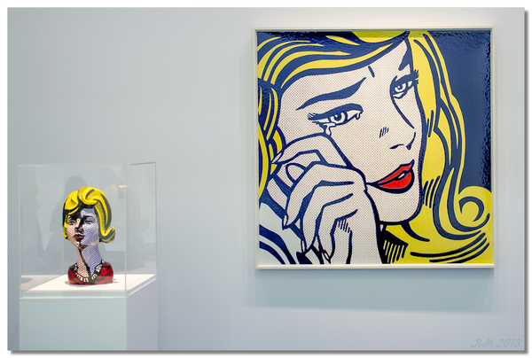 Roy Lichtenstein beaubourg