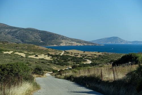 Les plages de Naxos