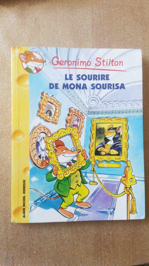 Géronimo Stilton: le sourire de Mona Sourisa
