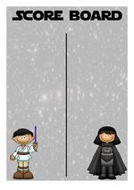 Thème de l'espace Star Wars