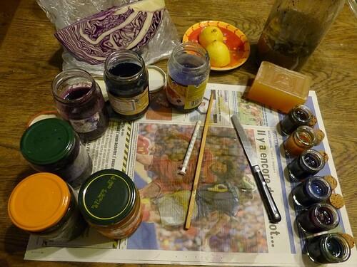 Découverte de l'aquarelle aux encres végétales