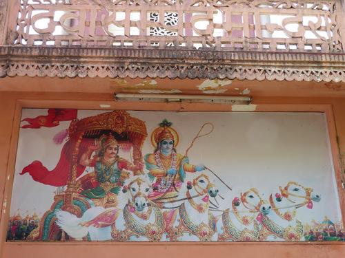 sur les bords du Gange à Rishikesh