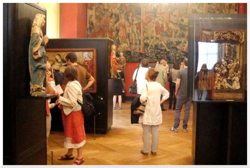 Musée national du Moyen-âge, thermes et hôtel de Cluny.