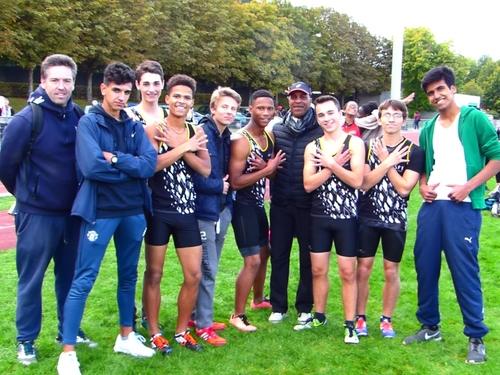 ASFI : challenge Equip'athlé LIFA Cadets