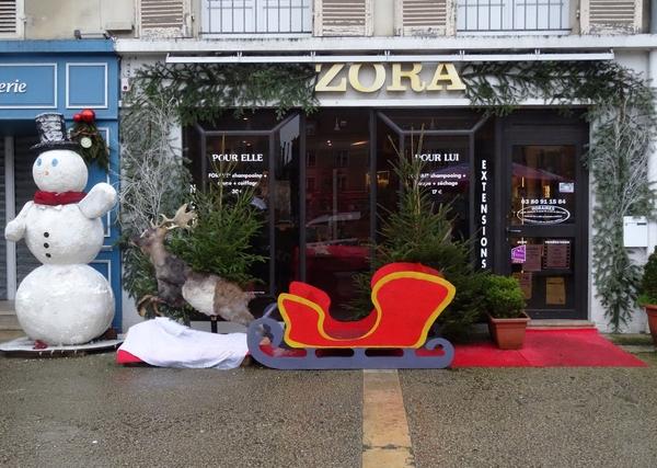 La ville de Châtillon et les Vitrines Châtillonnaises se sont mises sur leur 31 pour les fêtes de fin d'année 2014 !