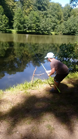 A la pêche!