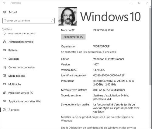 Les mises à jour de Windows 10