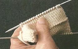 ourlet tricoté 1