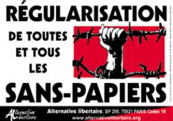 régularisation des sans papiers