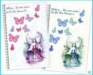 Cahiers Thème Papillons Cadre