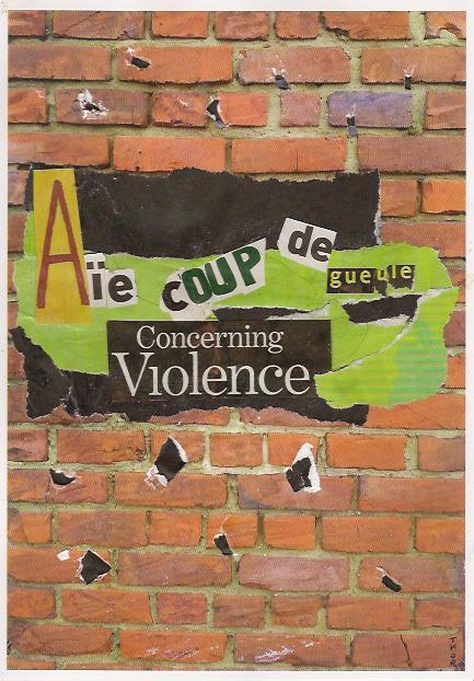 Aïe coup de gueule concerning violence