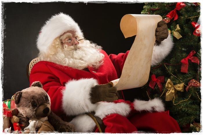 Ma lettre au père Noël ...