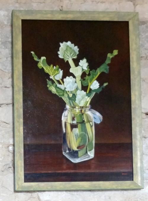 L'exposition 2012 d'Emma Koens à la chapelle Saint Maur du Puiset..