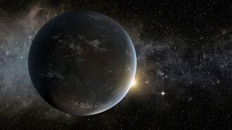 Découverte de la plus grande exoplanète en orbite autour de deux étoiles