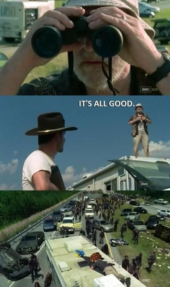 The Walking Dead memes 4