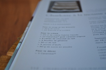 De nouveau livre de cuisine qui s'ajoute à ma bibliothèque ! =D ♥