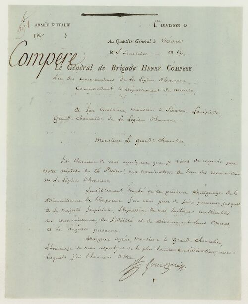 Général  COMPERE  Louis-Fursy-Henri