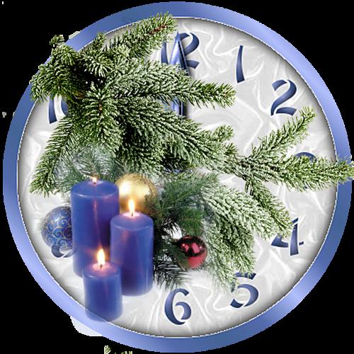 horloge,pendule etc de Noël 1