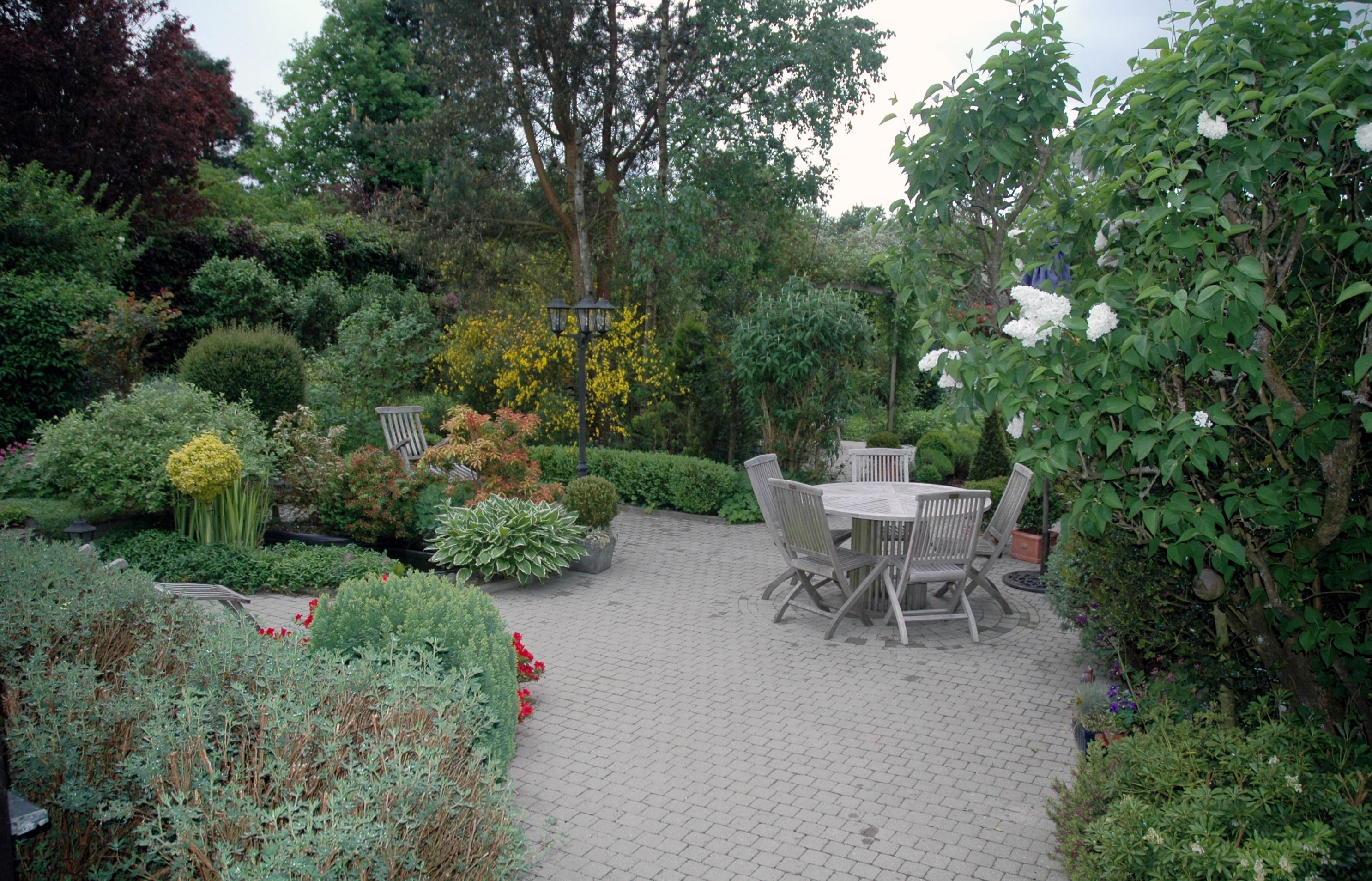un jardin dans la maison