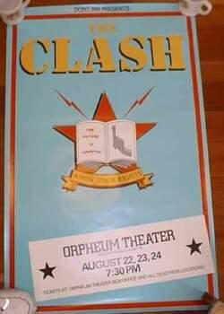 La Saga du Clash - épisode 33 - Combat Rock Us Tour Partie 1