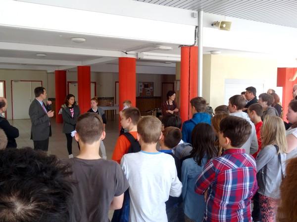 """""""Le Châtillonnais vu par les collégiens"""" un très beau travail réalisé au Collège Fontaine des Ducs"""