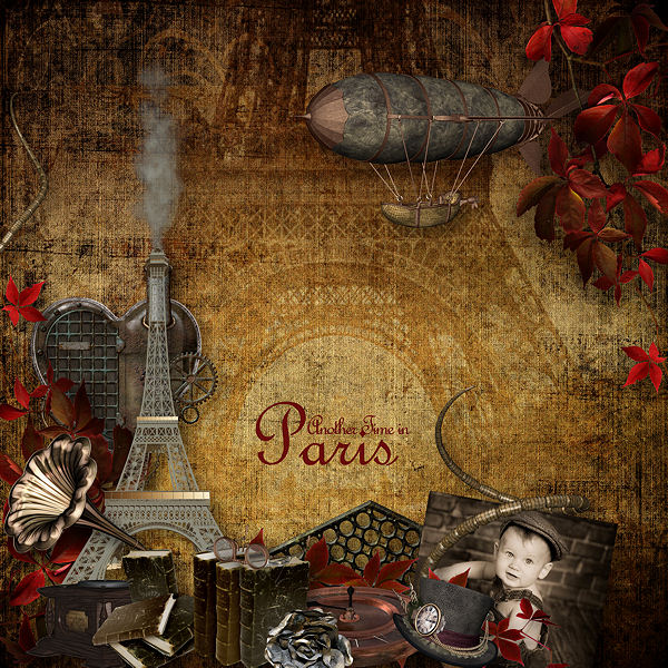 """""""Another Time in Paris"""" by Valkyrie Designs"""