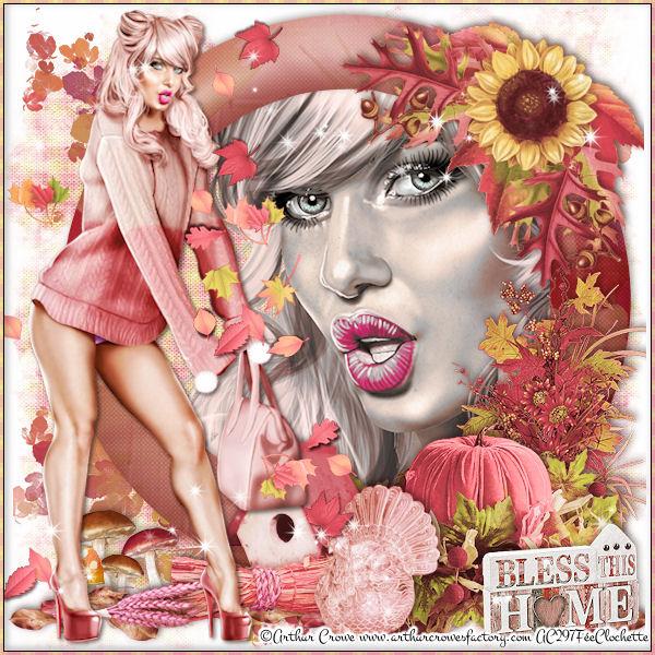 Lovely pink autumn