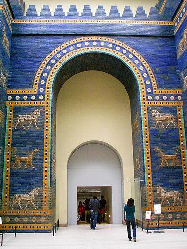 La porte d'Ishtar à Babylone : de l'héritage !