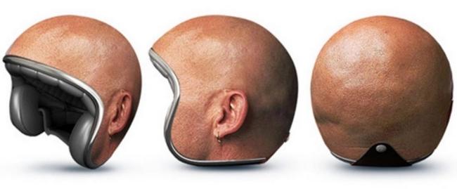 Photographie de casque de moto