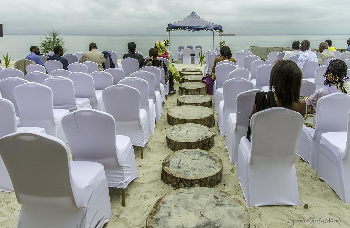 En attendant les futurs mariés