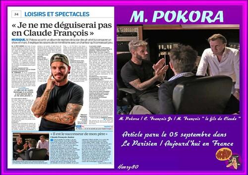 M. POKORA CHANTE CLAUDE FRANCOIS