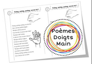 Poèmes sur la main et les doigts