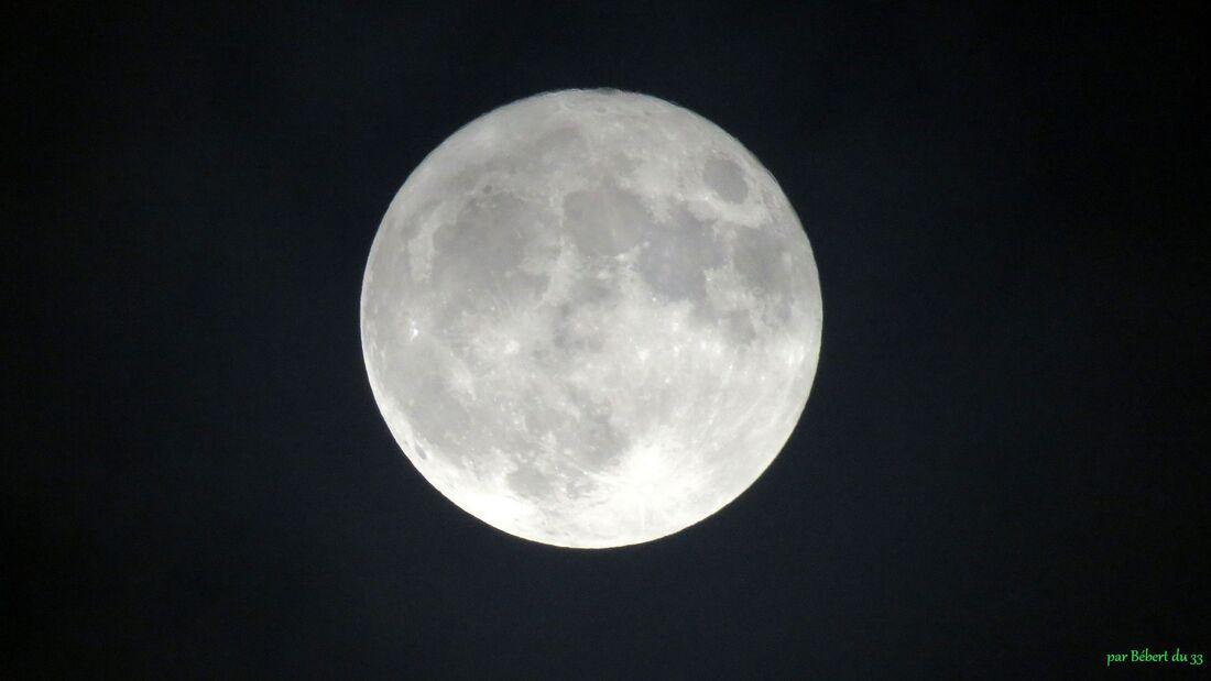 la lune en 1 nuit
