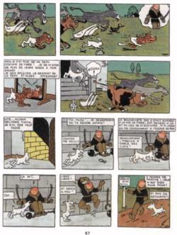 Chronique de la BD {Tintin au pays des Soviets}