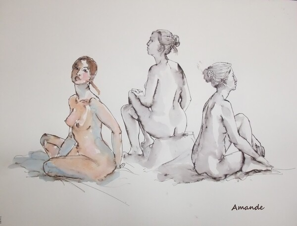 Dimanche - Trois poses