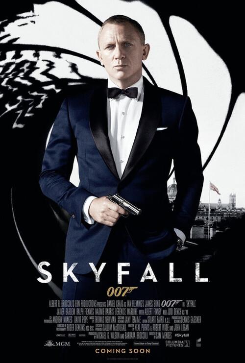 """Bonsoir , a l'honneur : """" Skyfall """""""