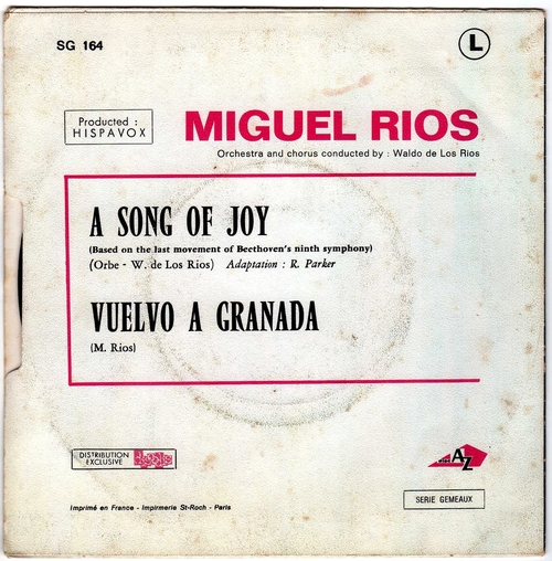 Miguel Rios - Song Of Joy 02