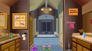 Jouer à Escape via bathroom