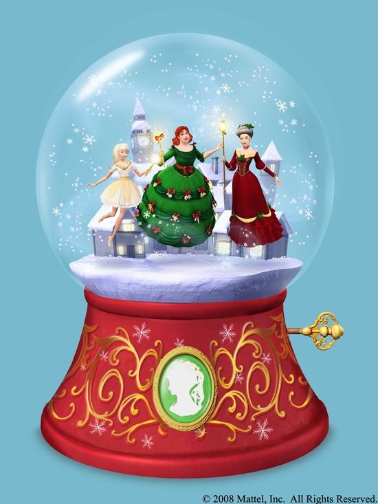 Fond d'écran Barbie et La Magie de Noël 4