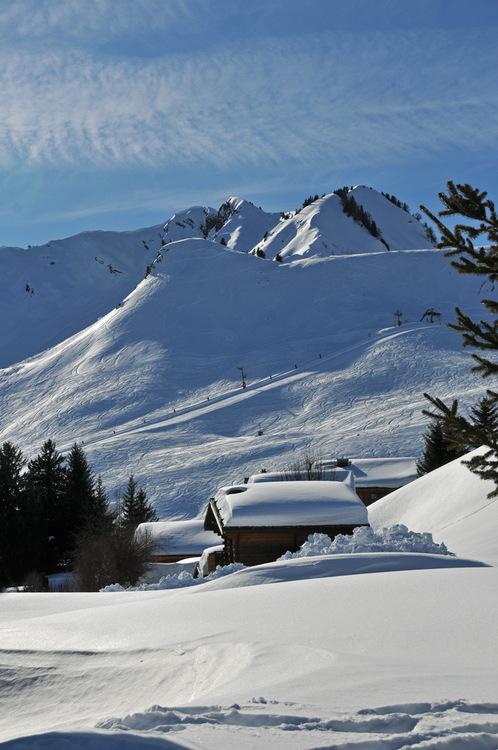 Vues d'hiver : le Praz-de-Lys (#1)