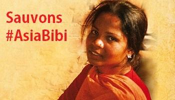 Pétition : #AsiaBibi : Non à la condamnation à mort d'Asia Bibi au Pakistan pour un verre d'eau !
