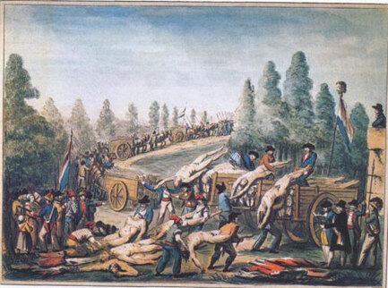H9 La fin de la Révolution et la terreur  Par Marie et Hugo M et ewen