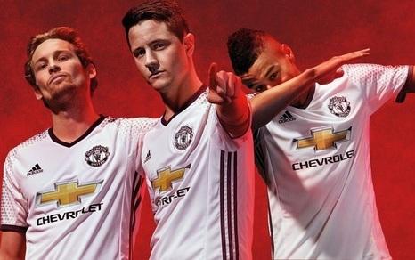 Nouveau Maillot de Troisieme Manchester United 2016 2017