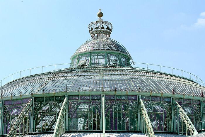 Visite Des Serres royales -Bruxelles - Belgique...   Un Endroit Unique À Visiter En Famille...