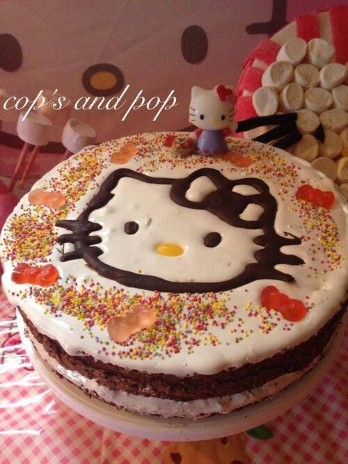 Gateau anniversaire Hello Kitty